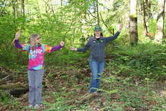 Measuring (wildliferecreation) Tags: washington urbanforest bothell scienceeducation northcreekforest