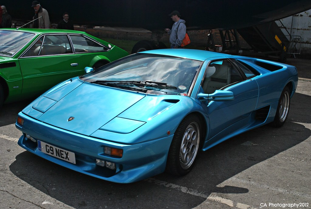 Italian Car Day Brooklands 2013   Lamborghini Diablo VT (CA  Photography2012) Tags: Auto