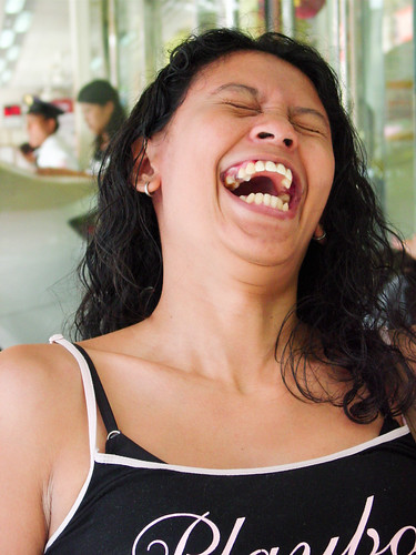 Jessie Laughing by Exciting Cebu -- Rusty Ferguson, on Flickr