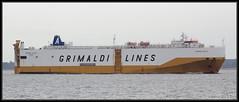 Grande Sicilia (leightonian) Tags: uk island boat ship unitedkingdom isleofwight solent gb isle cowes roro wight iow vehiclecarrier