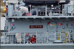M111 - HMS Blyth (PaulHP) Tags: london thames river anniversary president navy royal battle atlantic boa 70th minesweeper blyth rn hms m111