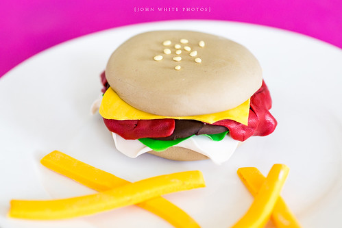 Plastic Food made by daughter