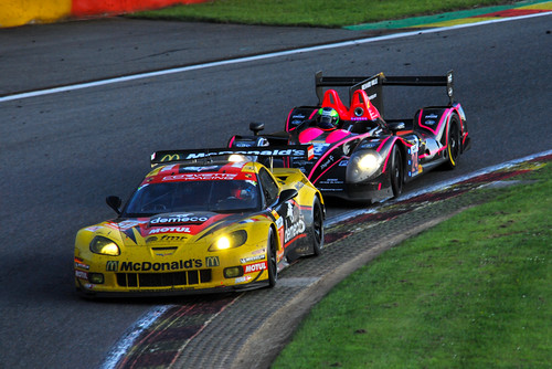LARBRE COMPETITION - Chevrolet Corvette C6-ZR1 and OAK RACING - Morgan Nissan