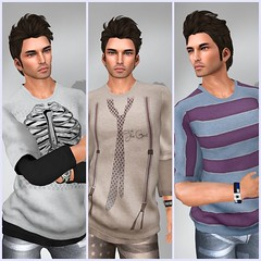 New by Ispachi The Rebellion outfit. (Nerdfinds) Tags: event boutique exile belleza tlc the liaison collaboratives ispachi