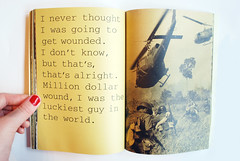 (Jane Gardner) Tags: typography book design graphicdesign war vietnam story csm typographic vietnamwar