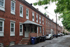 Row houses, North Brighton (Blake Gumprecht) Tags: houses brick boston massachusetts row housing northbrighton censustracts