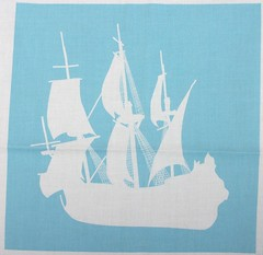 Artic Explorers Sailing Ships (smuk - mooglees) Tags: boys boats for sailing sale ships sails boyz fabric 1700s vessels manowar smuk spoonflower