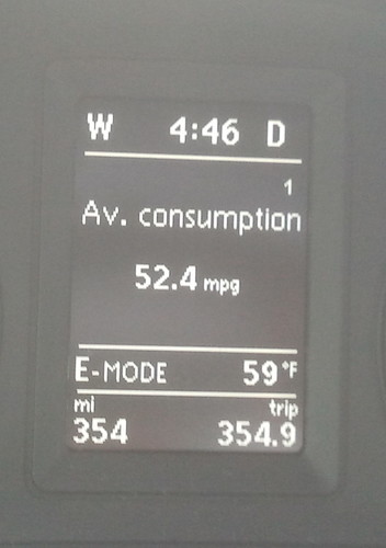 Awesome Hybrid MPG!