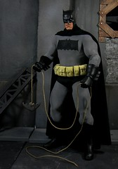 DKR Bats (Wizard of X) Tags: robin dark frank action miller figure batman knight dccomics custom returns brucewayne the bobkane dkr dickgrayson billfinger