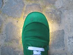 Beacon, maat 43. (Palingzp) Tags: light verde green nose shoe hope licht groen soul antwerp sole beacon palladium antwerpen schoen zool laces neus veters baken