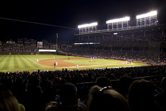 night game (Rotating Frame) Tags: chicago game field night baseball il cubs wrigley mlb