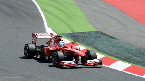 Alonso . Ferrari F138 . 2013 GP F1 Spain. Qualifying.   00026