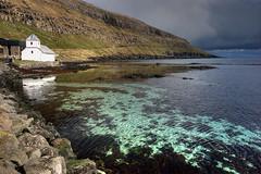 North Atlantic Luminescense (hapulcu) Tags: storm church atlantic faroeislands streymoy kirkjubur noitsneverwarmenoughforaswimthere