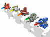 R-Types Micro Lineup (halfbeak) Tags: lego space microspace starfighters microscale rtypes