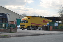 Photo of DHL Volvo FH - PO60 AJU
