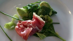 Thursday lunch - starters - avocado and Parma ham salad. #Pureview #Food #Kittil #Finland (Gareth James (Finland)) Tags: food finland avocado parmaham kittil nokia808pureview