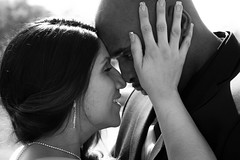 Passion (Alec Smith's Photography) Tags: wedding white black love kiss married about passionate