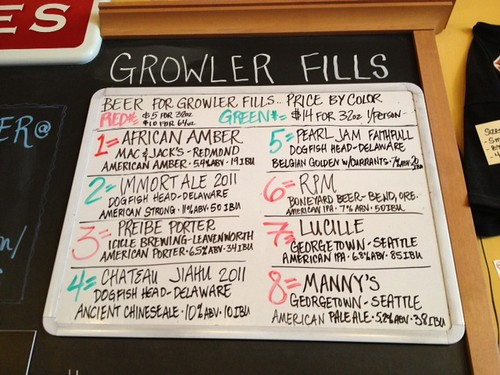 Beer for growler fills 5pm 5/15