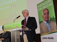Apresentação Candidatura Jaime Azedo