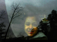 Grey Day (Meghna Z) Tags: portrait people face person schild edit