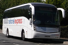 X4814 - FN62 CGE (Matt J Forbes) Tags: nationalexpress ltg lucketts caetanolevante volvob9r x4814 fn62cge