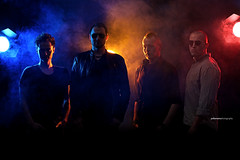 Devi's Queen (Jodie Mann) Tags: men rock lights promo smoke devils band queen atmospheric stagelights