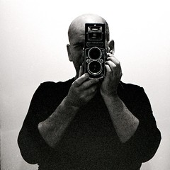 Me and my Camera (Rupert Hitchcox) Tags: film mediumformat kodak trix rolleiflex28c