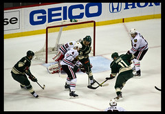 IMG_2405 (adamshadiow | PHOTOGRAPHY) Tags: wild chicago hockey minnesota zach koivu nhl blackhawks mn mikko parise