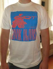 #675A Drunk Injuns - Frontside Grind (Minor Thread) Tags: records shirt vintage dead punk beware stock mofo thrasher oddmanout skaterock drunkinjuns
