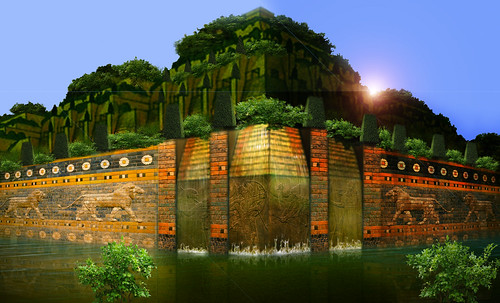 "Jardines colgantes de Babilonia • <a style=""font-size:0.8em;"" href=""http://www.flickr.com/photos/30735181@N00/8745406640/"" target=""_blank"">View on Flickr</a>"