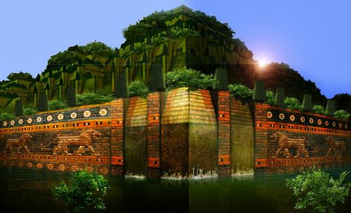 "Jardines colgantes de Babilonia • <a style=""font-size:0.8em;"" href=""http://www.flickr.com/photos/30735181@N00/8745406776/"" target=""_blank"">View on Flickr</a>"