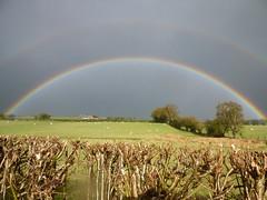 Rainbow (John Steedman) Tags: wales rainbow cymru regenbogen arcenciel powys paysdegalles ウェールズ 威爾士 breconshire