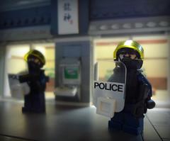 Public Security (Part 1 of 2) (Empty Sandbox) Tags: jack lego purge riotshield panasia panasian thepurge emptysandbox