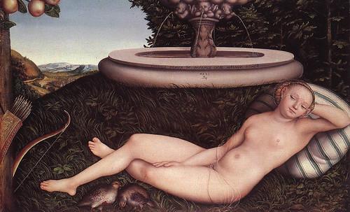 """Genealogía de las Soñantes, versiones de Lucas Cranach el Viejo (1534), Giorgione (1510), Tiziano Vecellio (1524), Nicolas Poussin (1625), Jean Auguste Ingres (1864), Amadeo Modigliani (1919), Pablo Picasso (1920), (1954), (1955), (1961). • <a style=""""font-size:0.8em;"""" href=""""http://www.flickr.com/photos/30735181@N00/8747946682/"""" target=""""_blank"""">View on Flickr</a>"""