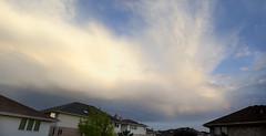 Clouds and Moisture (Jeff Minarik) Tags: sunset sky cloud sun color texture nature weather clouds sunrise nikon skies dof angle 28mm 85mm atmosphere thunderstorm lightning 18 storms skys depth mothernature cloudporn skyporn d7000