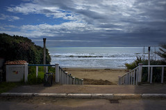 ...la strada, addormenta il mare... (UBU ♛) Tags: water blues blupolvere bluacqua ©ubu blutristezza unamusicaintesta landscapeinblues luciombreepiccolicristalli
