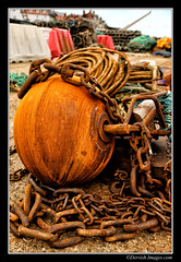 Rusty Ball & Chain (Dervish Images) Tags: abandoned rusty whitby derelict dervishimages