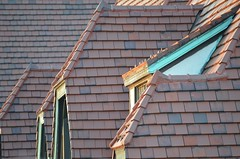 Clay Tile Roofs (Joe Shlabotnik) Tags: roof tile clay foresthills foresthillsgardens 2013 may2013