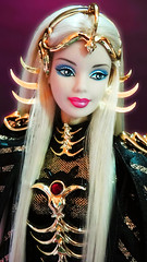 Princess of the Northern Constellatoins (possiblezen) Tags: 3 saint bill doll alien goddess barbie queen fanclub arctic galaxy future northern limited edition constellations exclusive futuristic direct constellation seiya greening