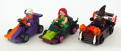 Freak Racers (Oky - Space Ranger) Tags: dc lego fear scarecrow ivy super gas freak batman heroes poison racers universe twoface