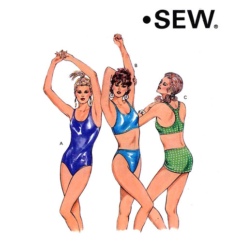Flickriver: Random photos from Swimwear Sewing Patterns pool