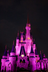 IMG_5664 (onnawufei) Tags: castle night disney disneyworld wdw waltdisneyworld magickingdom cinderellascastle
