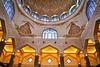 Interior of Masjid Putra, Putrajaya, Malaysia (-: : [himuGraphy] : :-) Tags: interior syed putrajayamosque himu masjidputra syedhimyanuddinahmed