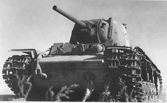"""Soviet heavy KV-1 tank disabled in Stalingrad • <a style=""""font-size:0.8em;"""" href=""""http://www.flickr.com/photos/81723459@N04/9285688380/"""" target=""""_blank"""">View on Flickr</a>"""
