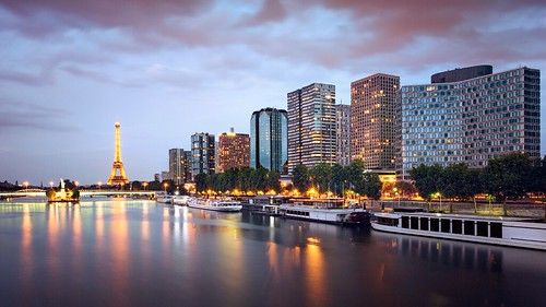 Quai de Grenelle  @ Paris by night 巴黎 France