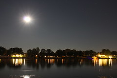 Moonlight on the Richelieu (stephenisabellemaggie) Tags: nightshot moonlight moonriver ringexcellence