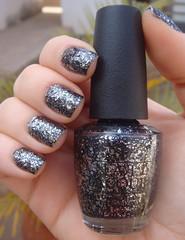 Metallic 4 life - OPI (Kaline Olenski) Tags: black glitter
