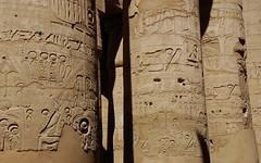 Egyptian Pillars (max tdubs) Tags: ancient pillar egypt egyptian pillars