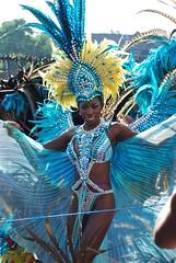 Enigma Vibes Mas (Ibrahim D Photography) Tags: carnival girl costume mas feathers masquerade nottinghill nottinghillcarnival blackwoman cutegirls ebonygirl ebonywoman nottinghillcarnival2013