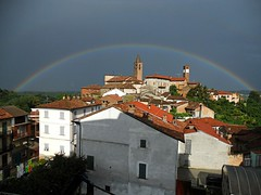 Arcobaleno completo. (Carlo Lurussoson) Tags: old panorama vintage lens nikon 28mm nikkor ail controluce lenses ottiche